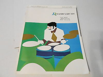 VINTAGE MUSICAL INSTRUMENT CATALOG #10160 - ROGERS DRUMS and OUTFITS