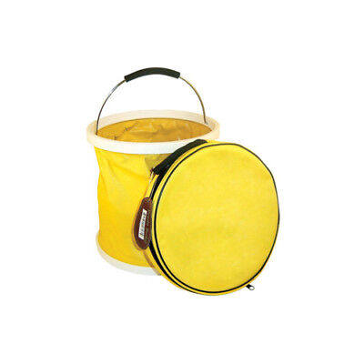 "Yellow ""Presto Bucket"" Lightweight Collapsible Bucket by Garden Works"