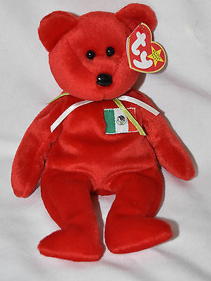 Vintage Beanie Babies Collection Osito Date Of Birth 2/5/1999