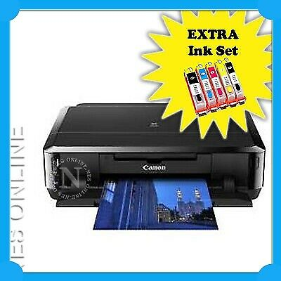 Canon IP7260 Wireless Photo Printer+Duplex+CD/DVD+Air Print BONUS:Extra Ink Set