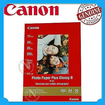Canon PP201/PP301 A4 Photo Paper Plus Glossy II 20xSheets 260GSM>Pro100 PP301A4