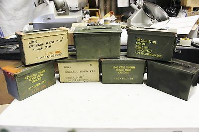 M2A1 Ammunition Cans The Good The Bad And The Ugly ..well No Bad Ones Just Ugly