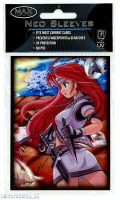 Max Protection Neo Sleeves For Pokemon/MTG Cards :: Kunai Girl :: Pkt 50