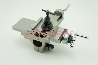 Saddle with Turning Tool for Watchmaker Lathe