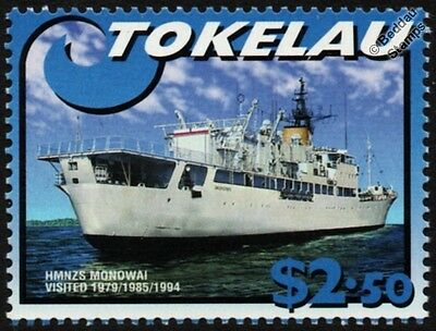 HMNZS MONOWAI (A06) Hydrographic Survey Vessel Auxiliary Warship Stamp
