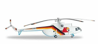 Herpa Wings Luftwaffe Mi8T 1/200 Scale Ltg 65 Fly Out Colors   Bn   556798