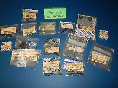 Lot of 18 Miscellaneous Nissan Forklift Parts