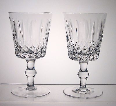 """CROSS & OLIVE by UNKNOWN Water Goblets PAIR 5 7/8"""""""