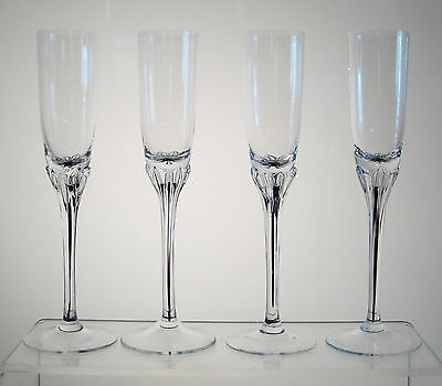 "EXQUISITE BOHEMIA BELFOR Tall Liqueur Cordial 7 5/8"" SET OF 4, Multiples Avail"