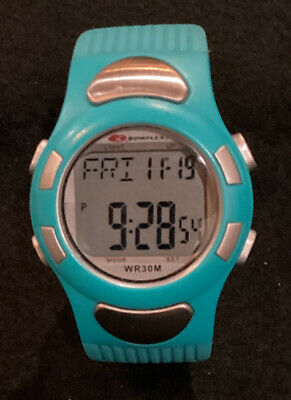 timex personal trainer heart rate monitor watch wr 30m 17 95 rh picclick com Chronograph Watches Bowflex Heart Rate Monitor Watch