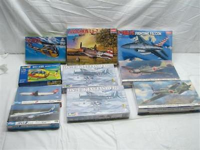 Lot 10 Revell Monogram Academy US Air Force Model Planes Fighter Helicopter