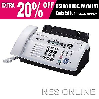 Brother FAX-878 Fax Machine Thermal Transfer FAX Up to 20 Page Memory  *RFB*