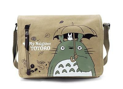 Neu Anime My Neighbor Totoro Segel canvas Messenger Tasche Bag 33x26x7CM 001