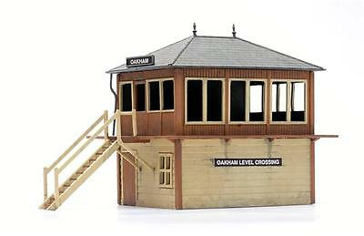 OO Scale Dapol Signal Box Un-assembled Un-painted Plastic Kit C006 FNQHobbys