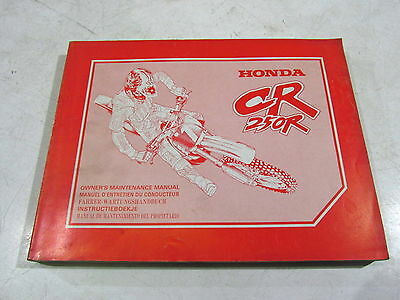Revue Manuel Entretien Maintenance Manual German Dutch Honda 250 Cr 93 69Kz3620