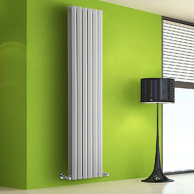radiateur chauffage central design vertical acier blanc 178 x 42cm 1881w eur 356 00 picclick fr. Black Bedroom Furniture Sets. Home Design Ideas
