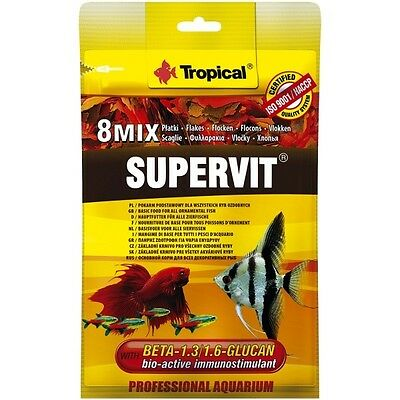 Tropical SuperVit, Basis-Flockenfutter mit Beta Glucan