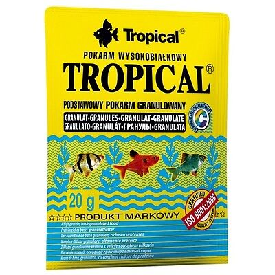 Tropical Tropical Granulat - proteinreiches Fischfutter