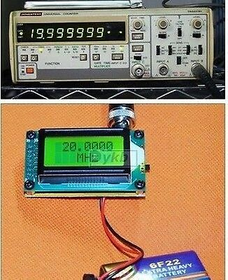 High Accuracy RF 1MH- 500 MHz Frequency Counter Tester For Radio Amplifier