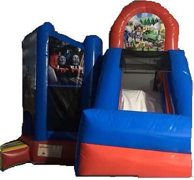 Thomas The Tank Jumping Castle Slide  Hire Only Melbourne Children Party  Hire