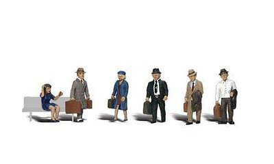 Woodland Scenics N Scale figures Travelers A2155  S252