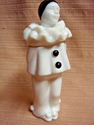 Vintage Avon Bottle - FRENCH MIME / CLOWN - Black & White