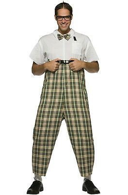 King of the Nerds Geek Dress Up Outfit Adult Costume