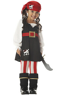 Precious Little Pirate Toddler Halloween Costume