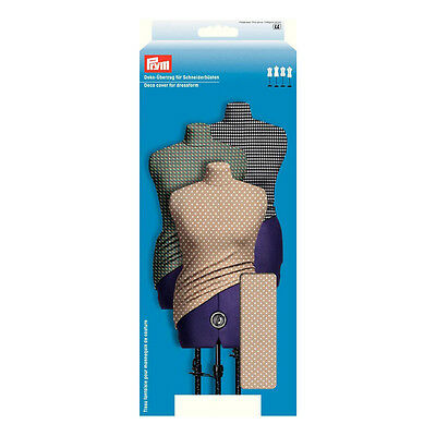 NEW   Prym 610230   Beige Dots Design Dressform Cover Small Fits UK Size 10 - 16