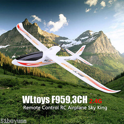 Wltoys F959 2.4GHZ 3CH RC Airplane Sky King Helicopter Aircraft Remote Control