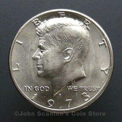 1973-D Kennedy Half Dollar - Choice BU