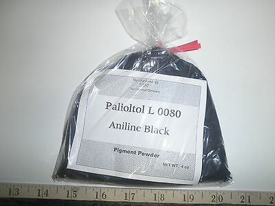 4 oz  BASF Paliotol Black L 0080  ANILINE DYE  PIGMENT POWDER  - Alcohol Soluble