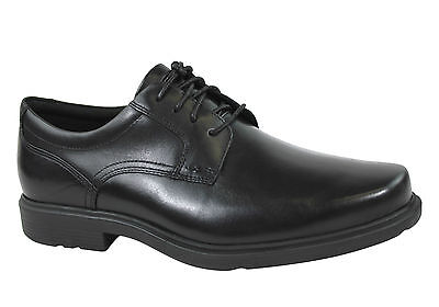 Rockport Style Tip Plain Toe Oxford Mens Leather Dress Shoes/lace Ups
