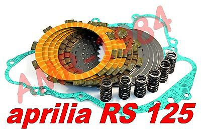 Disques Embrayage Modification Kevlar Aprilia Rs 125 + Guarniz Ressorts 0239625