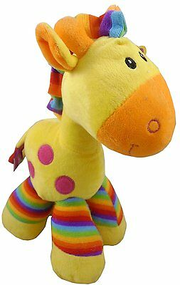 """10"""" yellow Giraffe Soft Toy - Baby Shower Gifts - Plush Toys (PL81)"""
