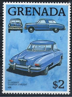 1947 STUDEBAKER CHAMPION STARLIGHT Car Stamp (Grenada)