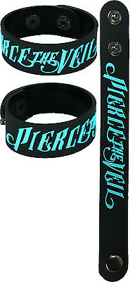 PIERCE THE VEIL NEW! Rubber Bracelet Wristband aa95 Blue Collide with the Sky