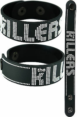 THE KILLERS  NEW! Bracelet Wristband aa139 Black/Battle Born