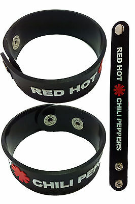 RED HOT CHILI PEPPERS NEW! Rubber Bracelet Wristband aa12 Californication