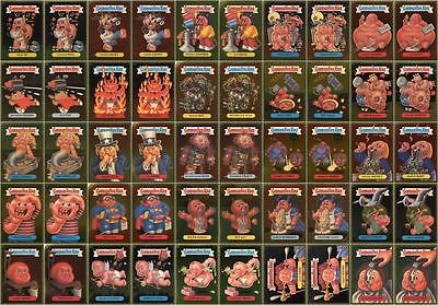 Garbage Pail Kids Ans2 Complete 50-Card Gold Foil Set 2004 All-New Series 2