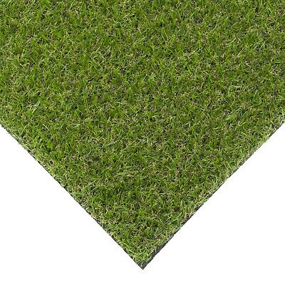 Super Budget Artificial Grass 19mm Thick Wide Garden Lawn Turf Astro CLEARANCE