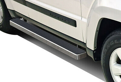 Nerf Bar | Side Steps | Side Bars Off Roader Eboard Running Board 4 Black Fits 2007-2017 Jeep Patriot Sport Utility 4-Door