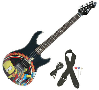 Peavey Simpsons Bart Rockmaster Full Size Electric Guitar - Closeout