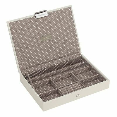 Stackers by LC Designs Vanilla & Mocha Classic Lidded Jewellery Tray