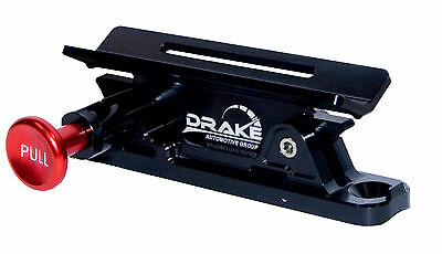 Quick Release Flashlight Mount BLACK Mustang and Classic Car Safety  SCOTT DRAKE