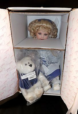 Beautiful Oop New Marie Osmond Doll Beary Best Friends Quite A Pair #537/25000