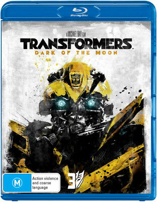 Transformers 3 - Dark Of The Moon Blu-ray Region B New!