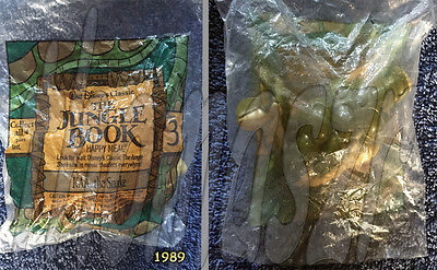 KAA, the SNAKE toy #3  - The Jungle Book   - McDonald's McD /Disney (1989) NIOP