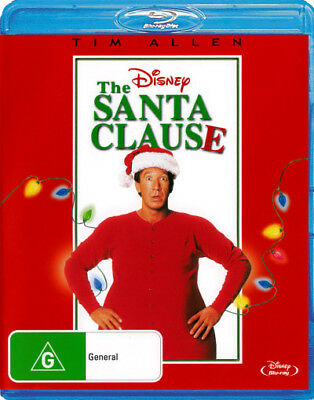 The Santa Clause - Tim Allen - Family Christmas Movie Blu-ray Region B New!