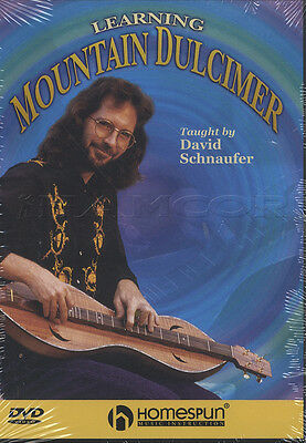 Learning Mountain Dulcimer David Schnaufer Learn How to Play Tuition DVD